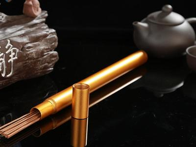 "8""Pure Relaxing Brown Sandalwood Incense"